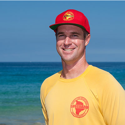 Water Safety Officer I Ryan McGuckin