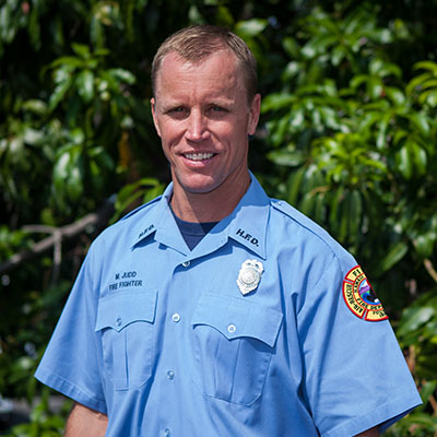 Fire Rescue Specialist Michael Judd