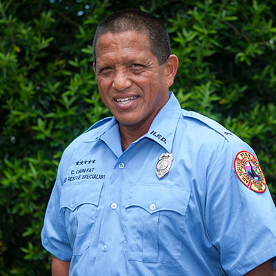 Fire Rescue Specialist Chad Chun Fat